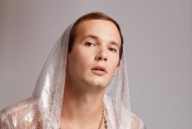 """Out queer actor Evan Daigle talks playing the gayest character on TV in """"Claws"""""""