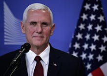 Mike Pence is defending the administration's ban on flying pride flags as patriotism