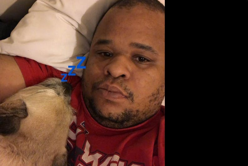 Terry Solomon has been left grieving for his husband, Winston McKay, after he was shot and killed walking their dog shortly after their 18th anniversary party ended.