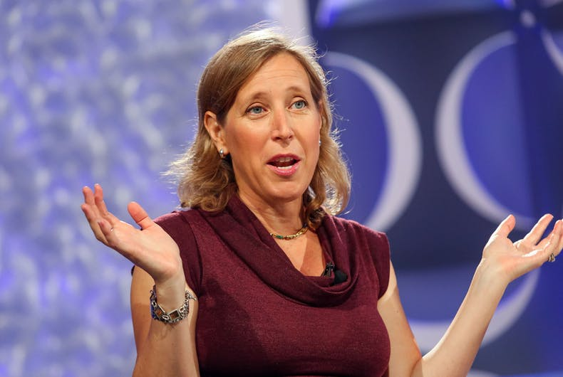Oct. 7th, 2014; Susan Wojcicki, Chief Executive Officer of YouTube speaks at the Fortune Most Powerful Women Conference