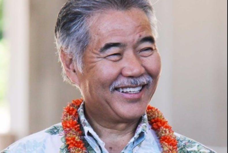Hawaii Governor David Ige