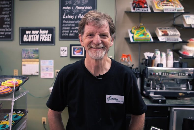 Jack Phillips, Masterpiece Cakeshop,