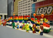 LEGO is hosting the world's smallest Pride parade to celebrate Stonewall's 50th anniversary