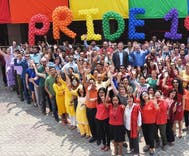 Embassies worldwide are defying Trump & flying the Pride flag without permission