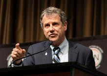 Senator Sherrod Brown has watched his colleagues come around on LGBTQ rights