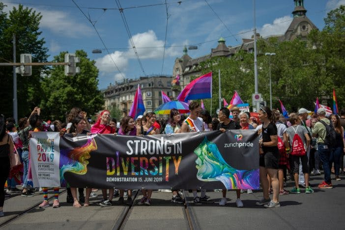 The public votes to make homophobia a criminal offense in Switzerland