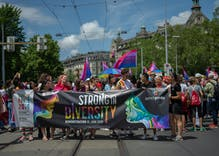 Pride in Pictures: Zurich Pride attracted thousands of people this year