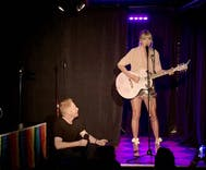Here's footage from Taylor Swift's surprise performance at the Stonewall Inn last night