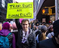 Support for trans people is growing in spite of Trump's nonstop assault on civil rights