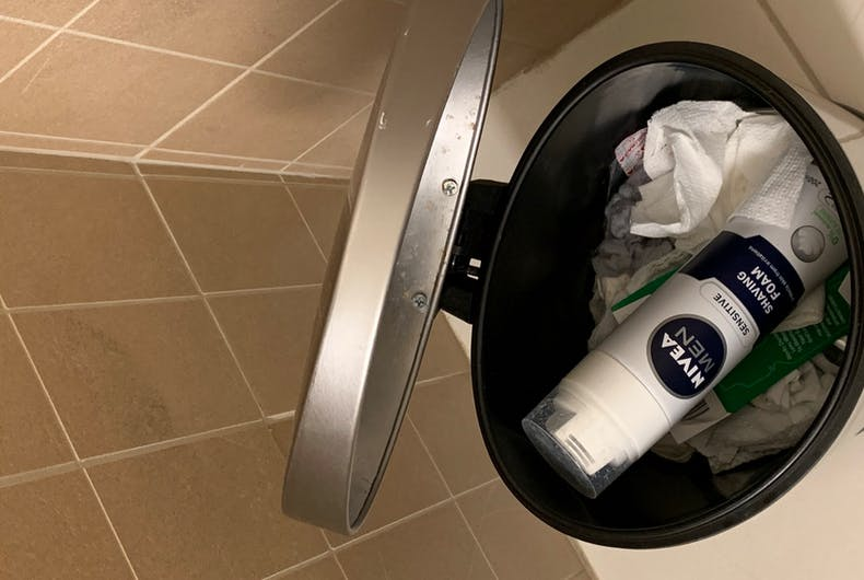 Users are tossing Nivea products in the trash after an executive reportedly made an anti-gay remark