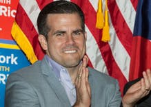 Puerto Rico's governor will resign over homophobic & sexist remarks after days of protests