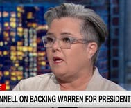 Rosie O'Donnell calls on Joe Biden to drop presidential bid & advise eventual candidate