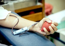 Gay & bi men can't give blood. So why does Facebook keep asking them to donate?