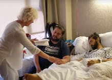 Gay man dying of cancer marries his best friend in a bedside ceremony