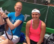 Lesbian couple kicks butt & makes history as Wimbledon doubles partners
