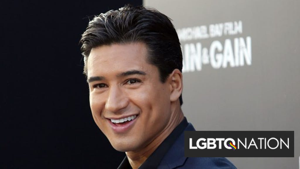 Mario Lopez Says Letting Children Be Trans May Have Dangerous