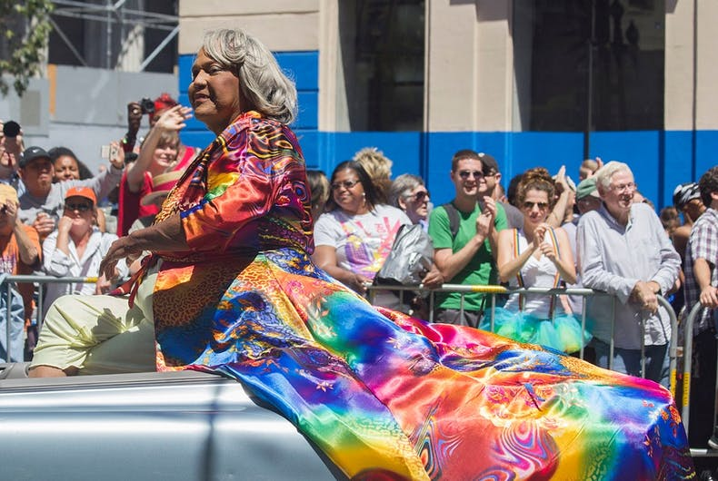 Miss Major at San Francisco Pride in 2014