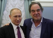 "Director Oliver Stone tells Putin that Russia's anti-gay law is ""sensible"""