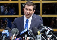 Pete Buttigieg shut down a supporter who tried to blame black people for police brutality