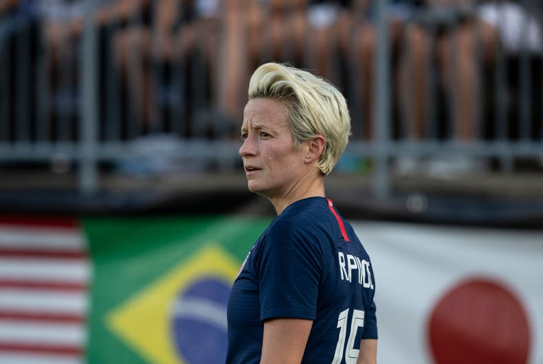 Megan Rapinoe, US Women's Soccer Team, lesbian, World Cup
