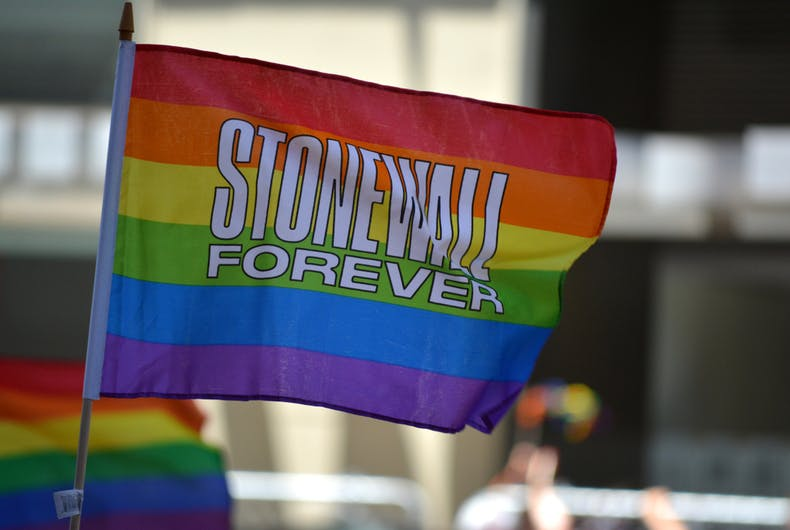 June 30, 2019: Honoring the 50th anniversary of the Stonewall Riots during the Pride Parade and WorldPride in Manhattan.