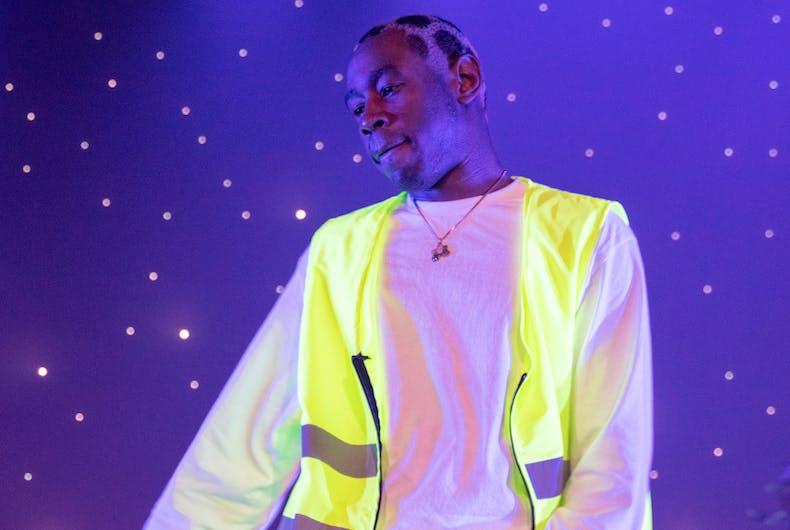 Tyler the Creator, rapper, gay