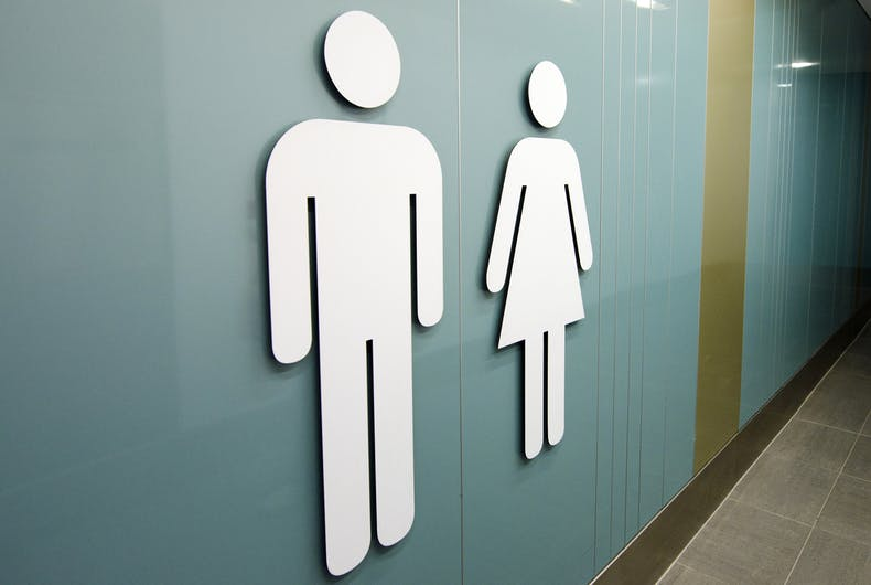 bathroom gender stick figures
