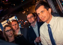 Pete Buttigieg takes in first place in Iowa in a new poll