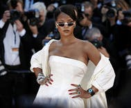 Rihanna blasts Trump after he offers faux sympathy for mass shooting victims on Twitter