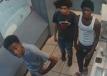 DC police release photos of gang of men who attacked a trans woman in gas station lobby