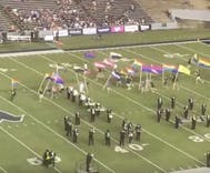 Rice University marching band trolls anti-LGBTQ rival during halftime with stunning display of pride