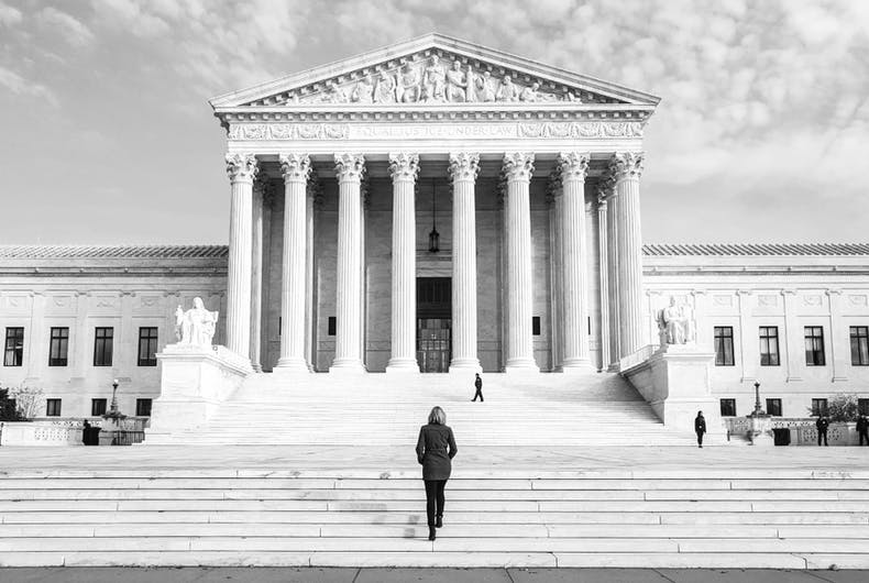 Were today's Supreme Court cases about LGBTQ people's right to work or right to live?