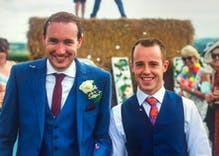 Gay couple sent a hateful note warning them to move their wedding