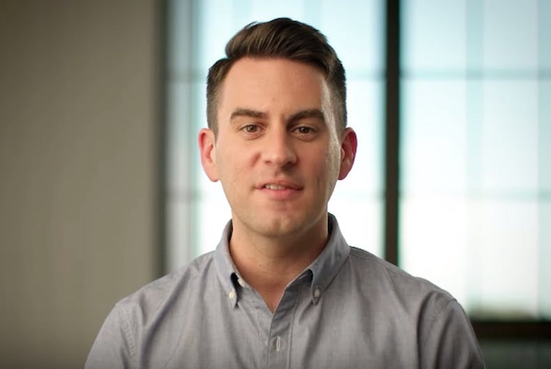 Josh Owens, Democratic candidate for governor, 2020, gay man, SupplyKick CEO
