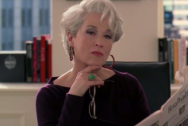 Miranda Priestly, Meryl Streep, The Devil Wears Prada, Elton John, musical, film, Chicago
