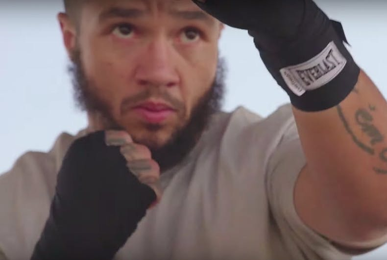 Patricio Manuel, transgender boxer, coming out story, Everlast ad