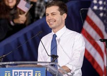 Hate mail is making Pete Buttigieg's mom worry about his safety