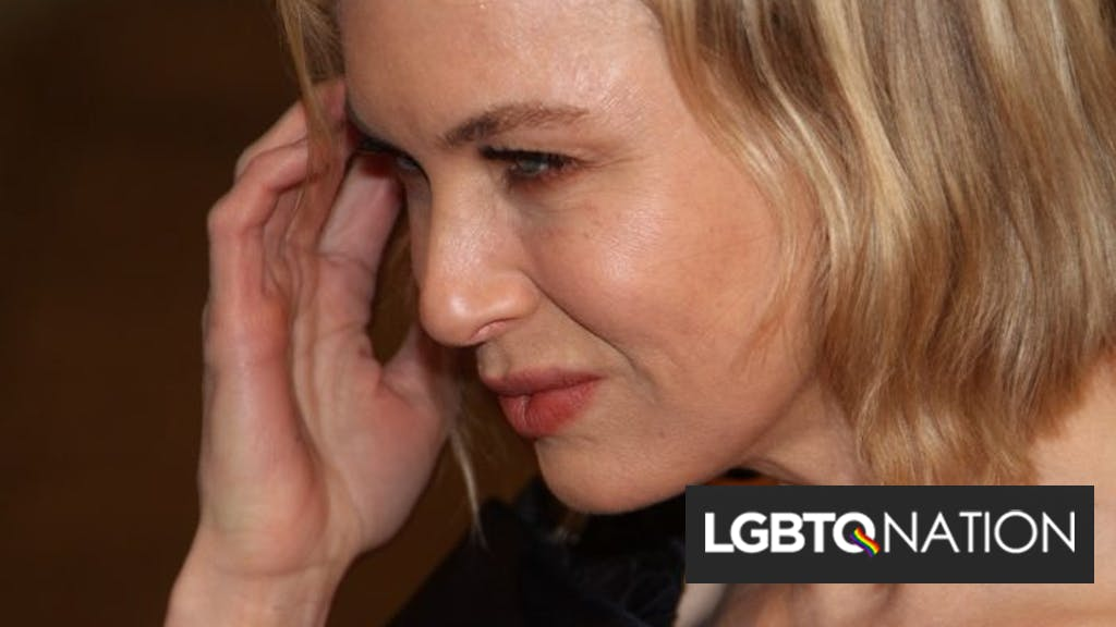 Renee Zellweger Is Such An Ally She Even Dated A Gay Man