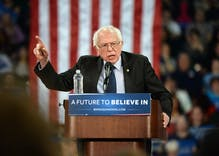 Bernie Sanders is the only Democratic frontrunner who will skip both LGBTQ debates
