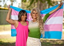 Women of color take center stage at D.C. Trans Visibility March
