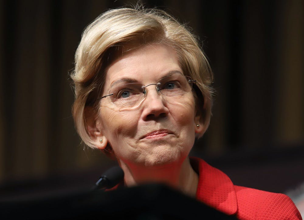 """Elizabeth Warren was asked who'd be her Mike Pence: """"I already have a dog"""""""