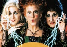 Trump is using the classic camp film 'Hocus Pocus' to raise money for his impeachment battle