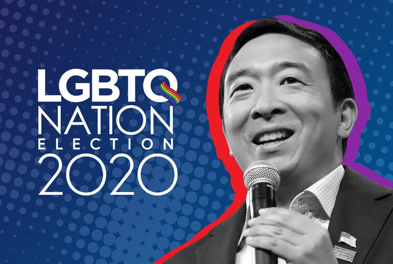 Andrew Yang LGBTQ Nation Election 2020