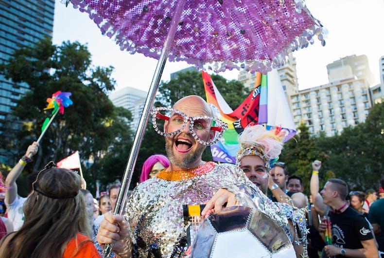 Mardi Gras in Sydney in 2016