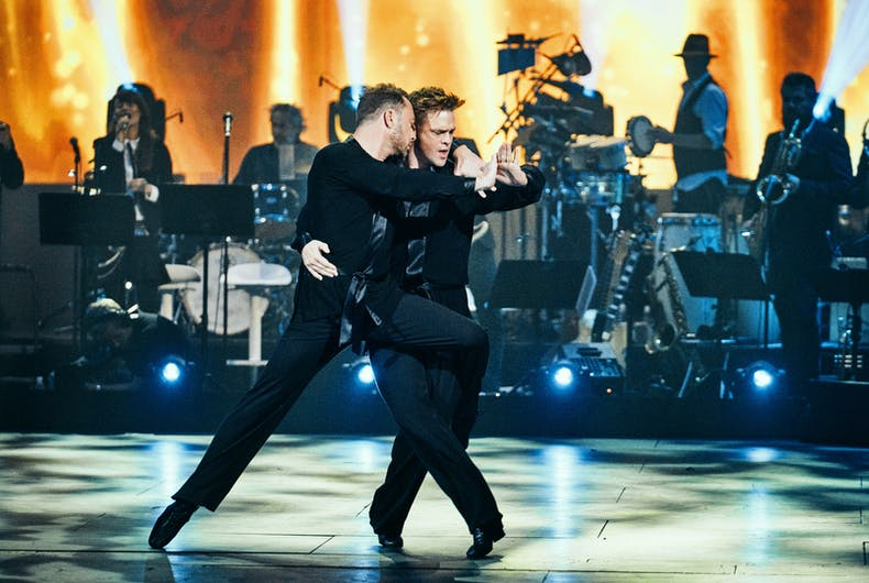 Jakob Fauerby and Silas Holst tear up the floor on Dancing With the Stars Denmark.