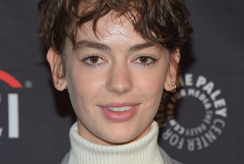 Brigette Lundy Paine arrives to the NETFLIX: PaleyFest Fall TV Previews 2018 on September 6, 2018 in Hollywood, CA
