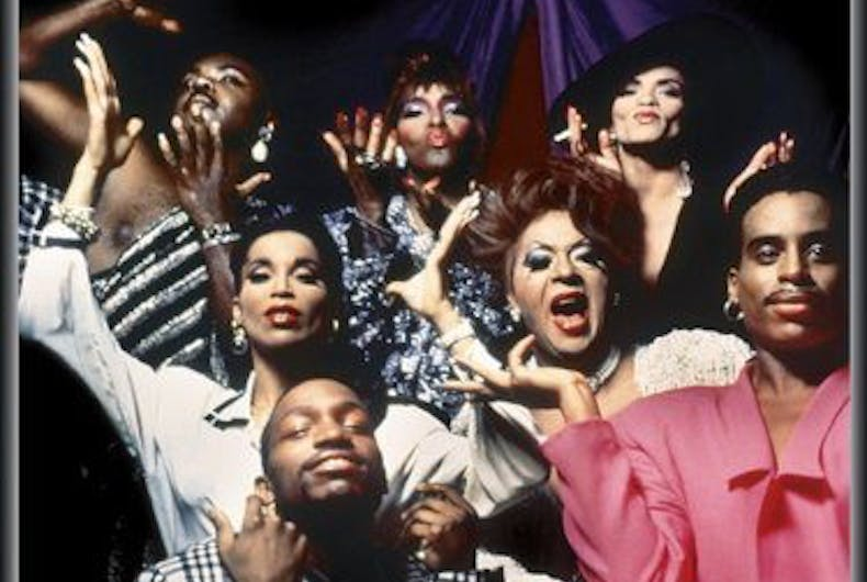 The cast of the 1990 documentary, Paris is Burning.