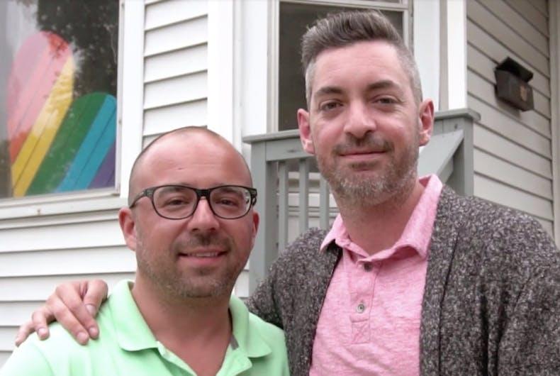 Brad and Nick Shlaikowski