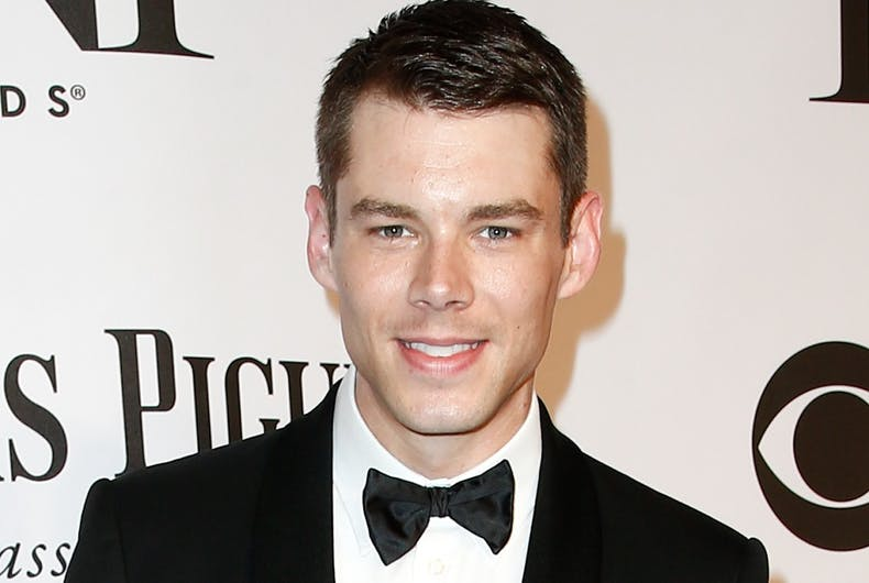 Actor Brian J. Smith attends American Theatre Wing's 68th Annual Tony Awards at Radio City Music Hall on June 8, 2014, in New York City.