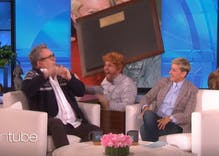 "Ellen scares gay-for-pay actor Eric Stonestreet with his ""TV husband"""